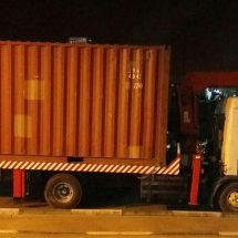 حمل و نقل کانتینر 20 فوت
